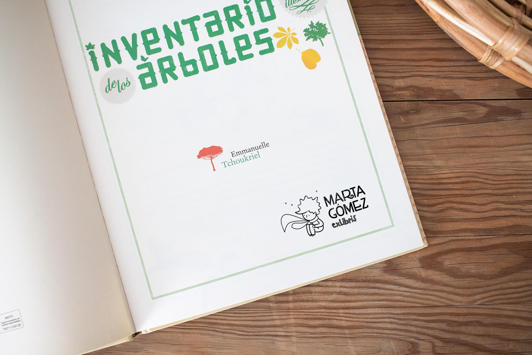 Exlibris personalizados para niños, modelo Principito