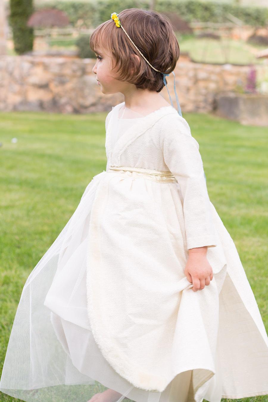 Cutamilla en familia, Elena vestida de Bel & Soph