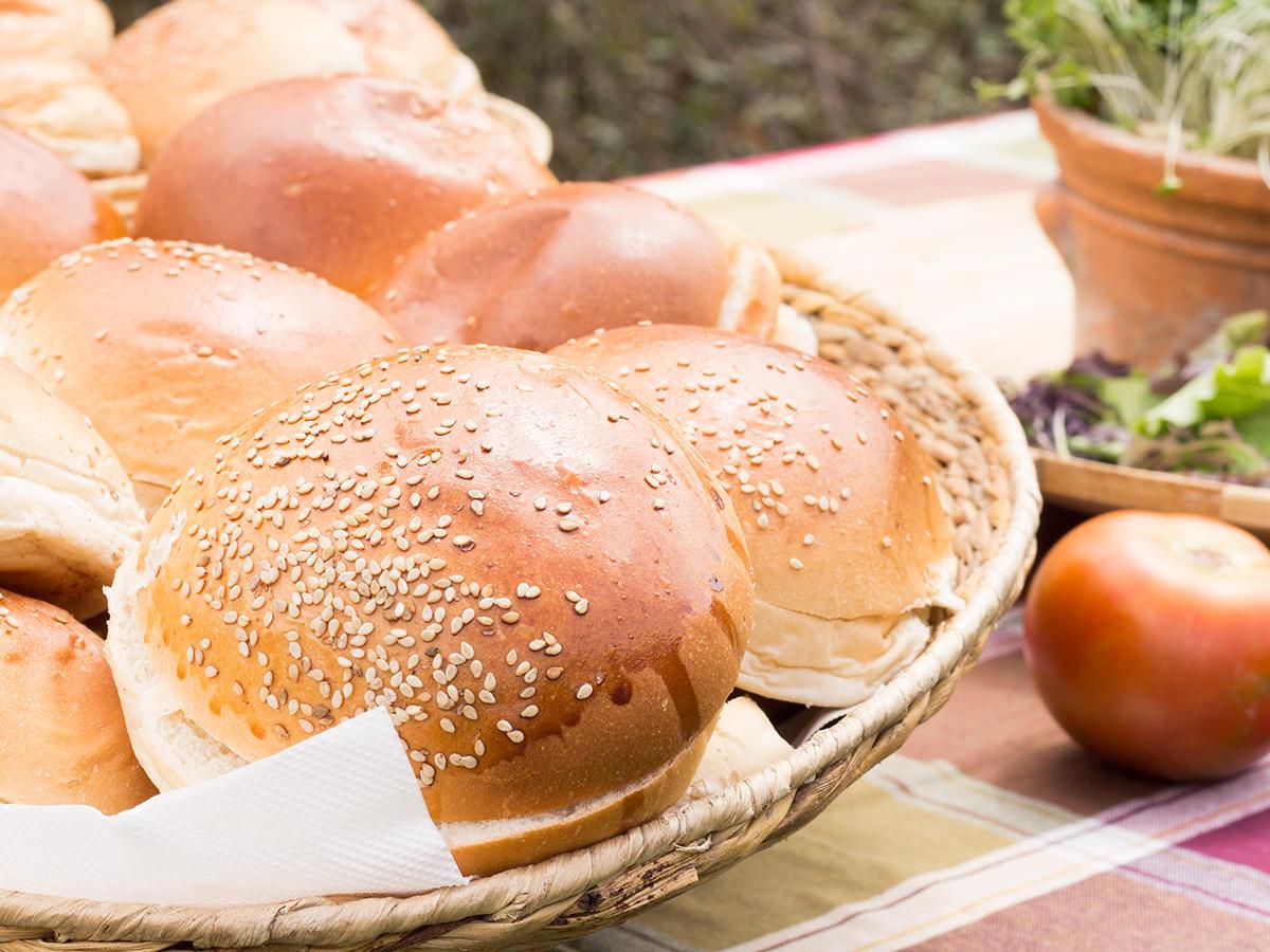 Cutamilla en familia, picnic domingo (pan hamburguesas))