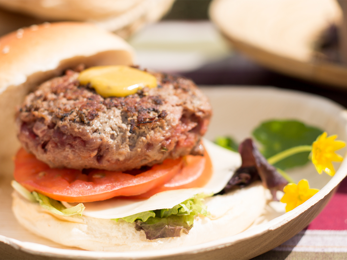 Cutamilla en familia, hamburguesa