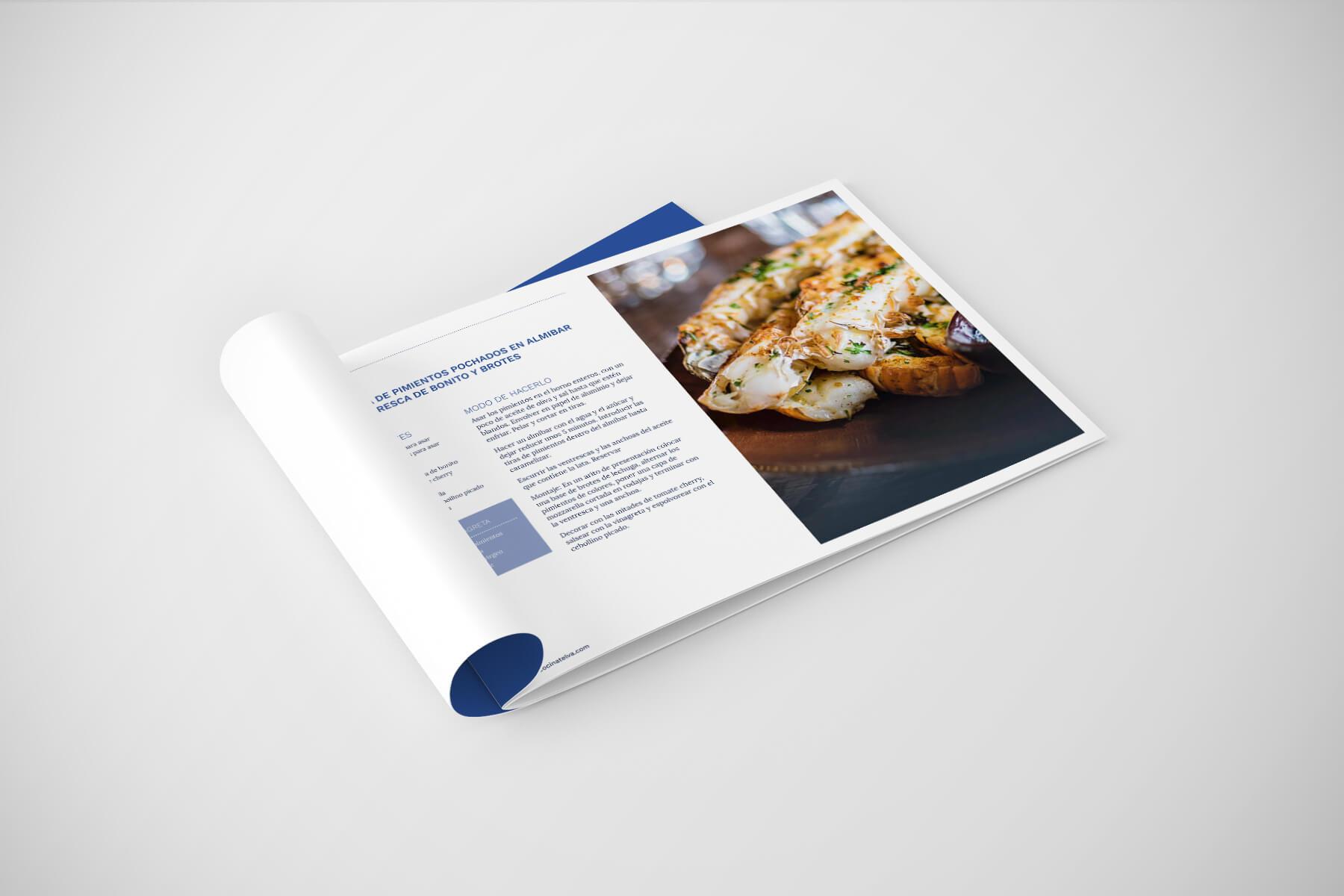 Recetario Escuela de Cocina TELVA