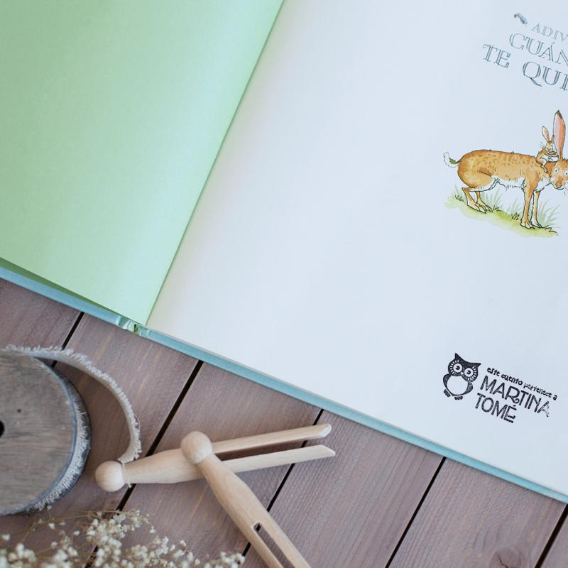 Exlibris personalizados para niños, modelo búho