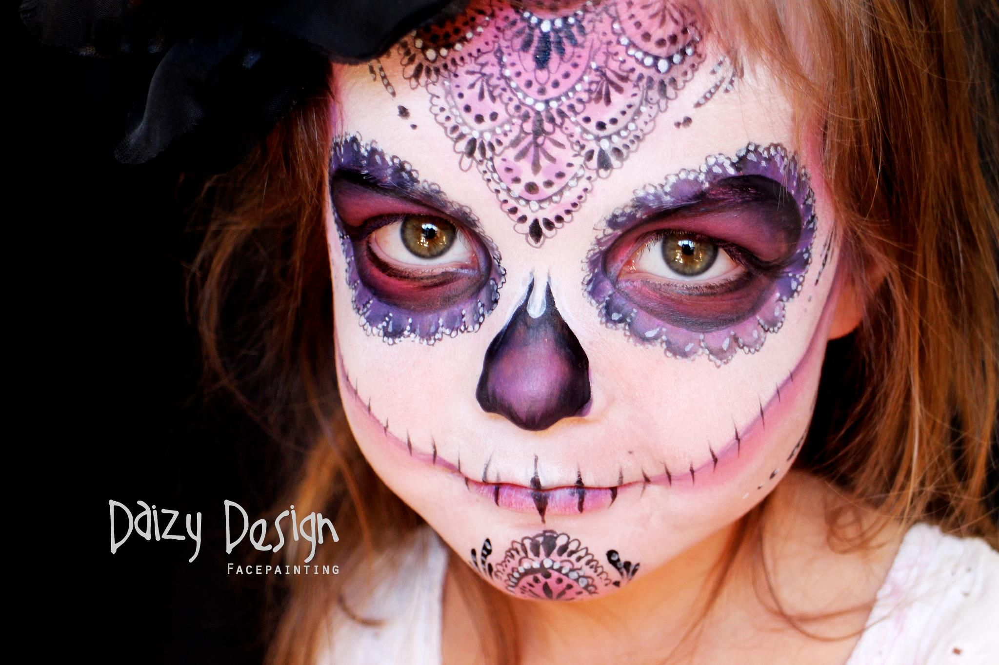 Daizy Design face painting. Ideas para hacer pintacaras