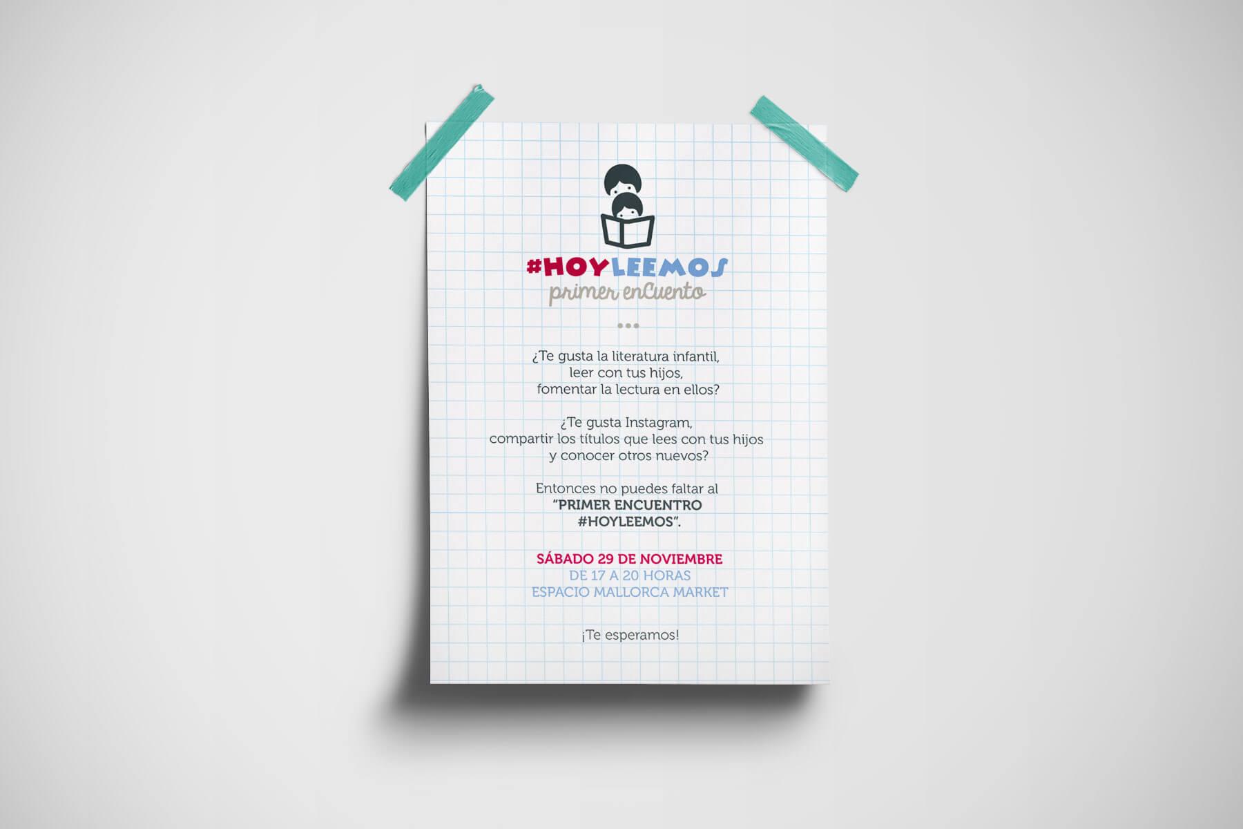 Invitación Primer EnCuento #HoyLeemos