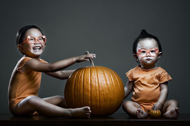 Las divertidas fotografías de Jason Lee, pumpkin