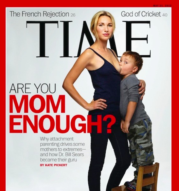 Portada de la revista Time, Are you mom enough?