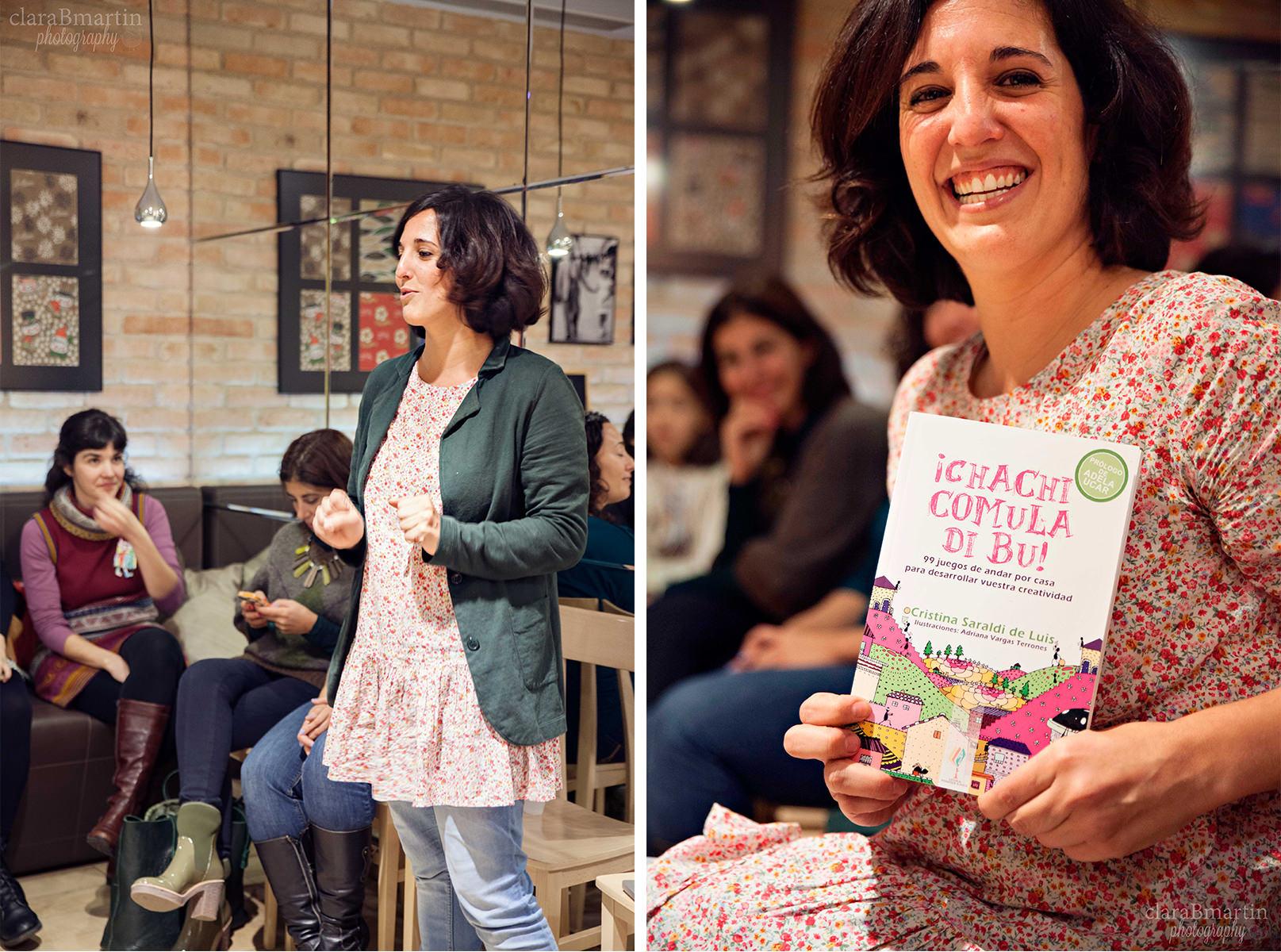 Cristina de Froggies. Primer encuentro #hoyleemos