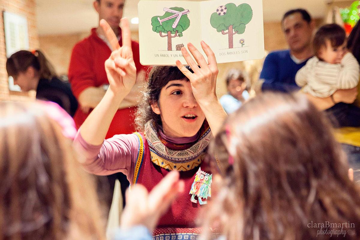 Beatriz Aguado, regadera de cuentos. Primer encuentro #hoyleemos