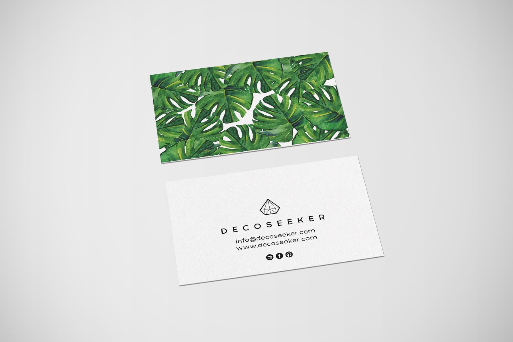 Tarjetas de visita Decoseeker