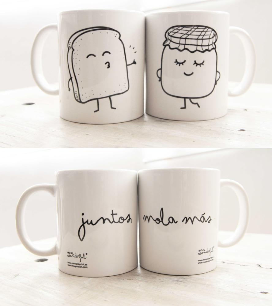 Juntos mola más, taza de Mr. Wonderful