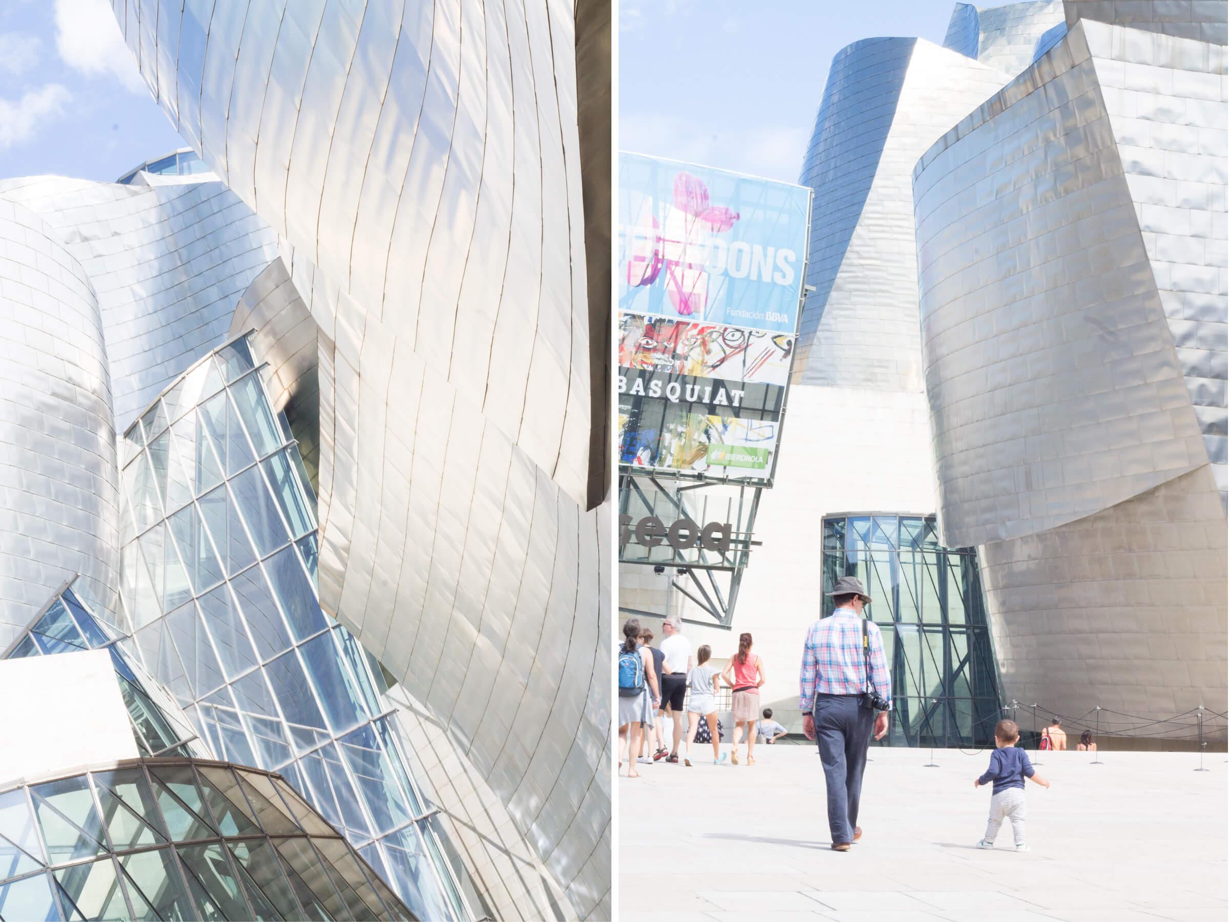 Ruta con niños por el norte. Guggenheim Bilbao